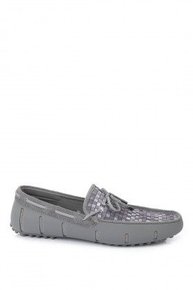 Swims - Gri Lace Loafer Woven