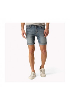 Tommy Hilfiger - Slım Short Scanton Brbm Bright Blue Mid