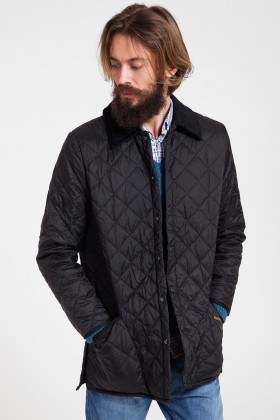 Barbour - Liddesdale Siyah Mont
