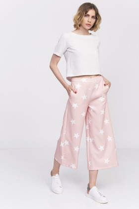 Lidyana Collection - Stars Of The Night Pudra Pembe Pantolon