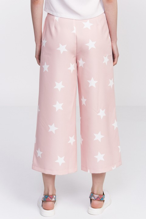 Lidyana Pop-Up Store Stars Of The Night Pudra Pembe Pantolon