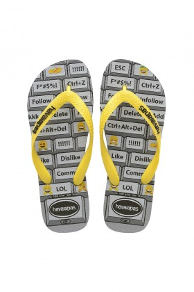 Havaianas - Hav. Mood Steel Grey/Citrus Yellow