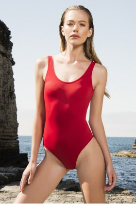 Anais Margaux Paris - Margot Red Swimsuit