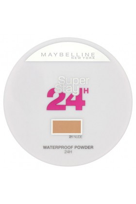 Maybelline - Maybelline Superstay 24h Waterproof Powder 021 Nude Fondöten