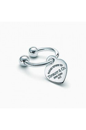 Tiffany & Co. - Return to Tiffany Heart Tag Key Ring