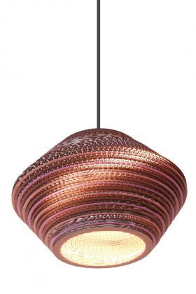 Kartonstudio - Honeycomb Colore Pink 40cm