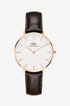 Daniel Wellington - Daniel Wellington Women Classic Petite York White Rose Gold - 32Mm