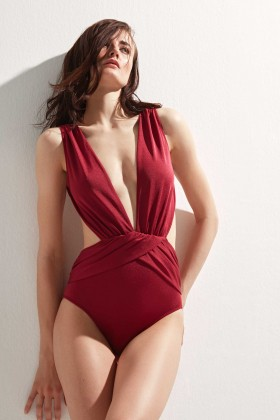 OYE Swimwear - Bordo Elvira Daring