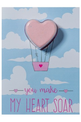 Bomb Cosmetics - You Make My Heart Soar Blaster Card