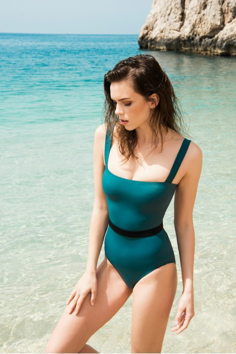 Anais Margaux Paris Valerie Green Swimsuit