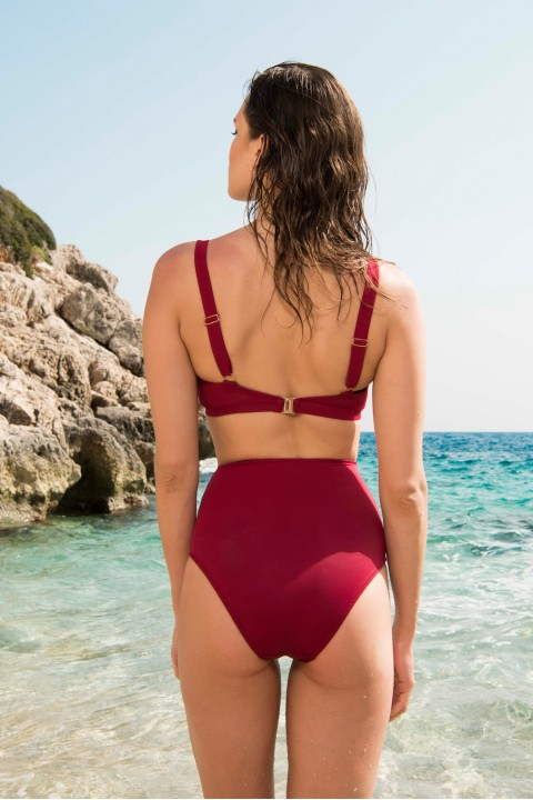 Anais Margaux Paris Valentine High Waist Cherry Bikini