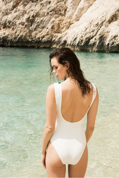 Anais Margaux Paris Blanche Ecru Swimsuit