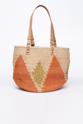 Larone by Bengartisans - The Rae Orange Tote