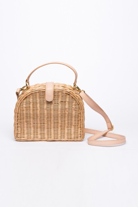 Larone by Bengartisans Half Moon Wicker