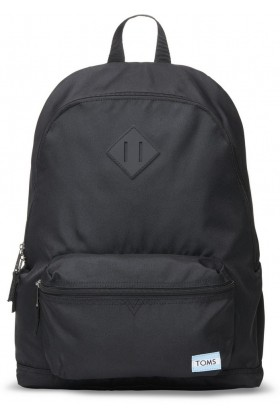 Toms - Black Poly Bcpack