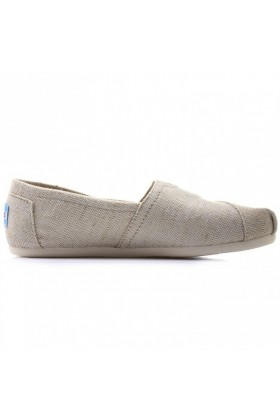Toms - Natural Metallic Burlap Women Alpargata