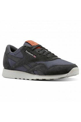 Reebok - Cl Nylon M Coal/Black/Grey/Mars Sneaker