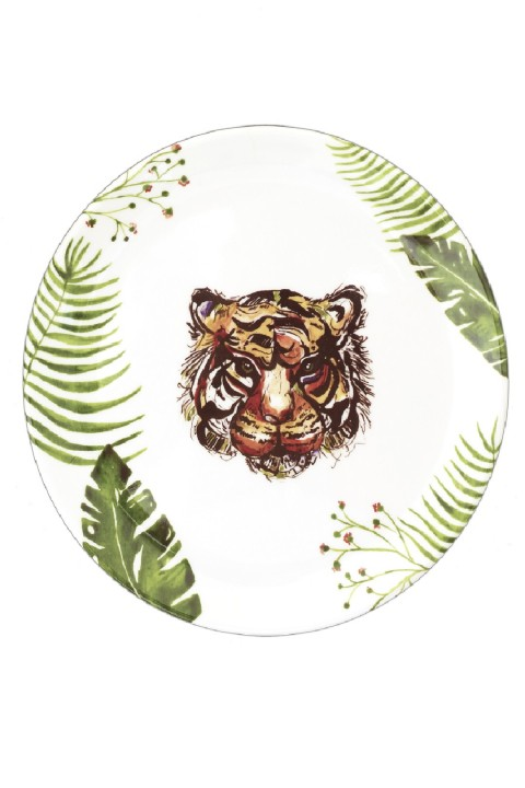 Fern&Co. Fern&Co 4'lu Safari Collection Buyuk Tabak Seti