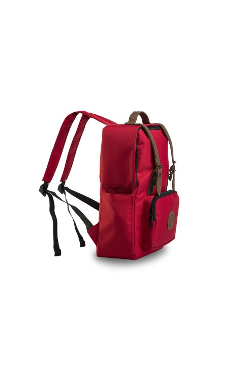 Fudela & Co BKS Red Backpack