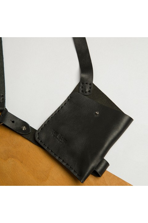 Tox Leather Siyah Harness