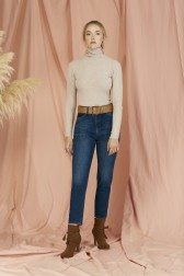 Lidyana Collection - Mom Jeans Model Kot Pantolon