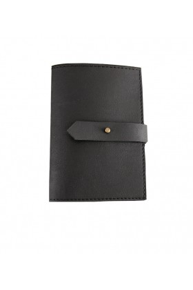 Le Color  - Le Color Leather Passaport Case Black