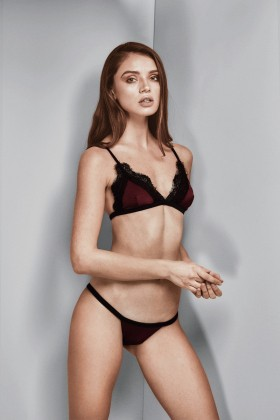 Gael London - Isabelle Bordo(Burgundy) Bikini