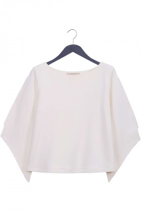 Quo Pure Touché Wings Cropped Sweatshirt