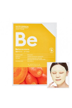 Missha - MISSHA Phytochemical Skin Supplement Sheet Mask (Betacarotene/Nourishing)