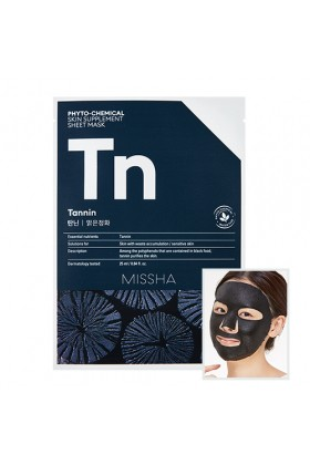Missha - MISSHA Phytochemical Skin Supplement Sheet Mask (Tannin/Purifying)