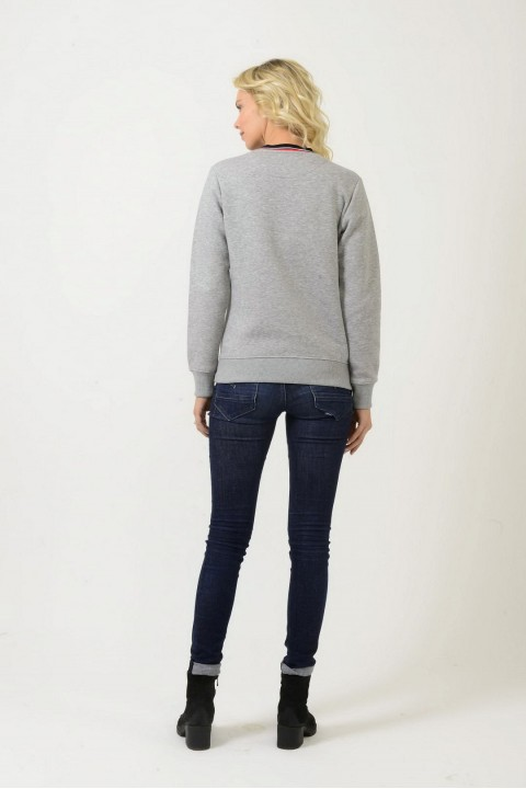 Think Simple Kadın Basic Sweatshirt