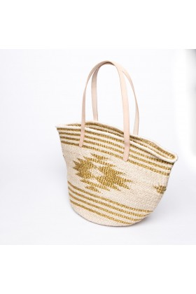 Larone by Bengartisans - Gold Bleach Tote