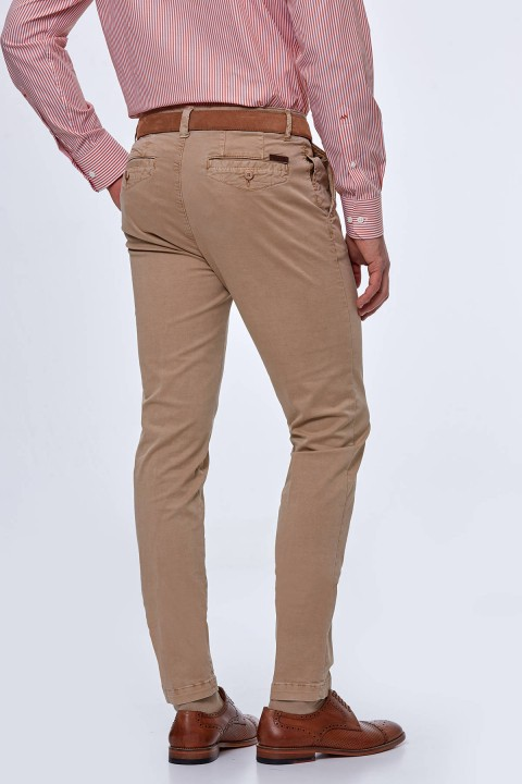 Hemington Camel Yazlık Chino Pantolon