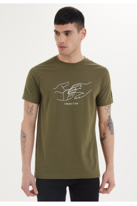 Westmark London - Connection Tee Haki T-Shirt