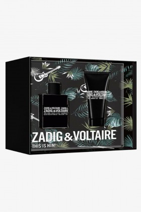 Zadig&Voltaire Parfüm - Zadig Voltaire This Is Him EDT 50 ml Erkek Parfüm Seti