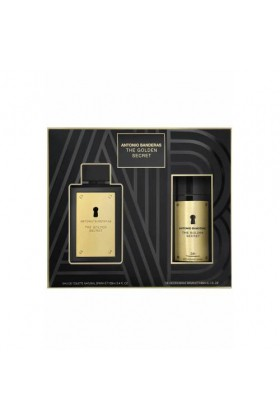 Antonio Banderas - Antonio Banderas The Golden Secret Edt 100 Ml Erkek Parfüm Seti