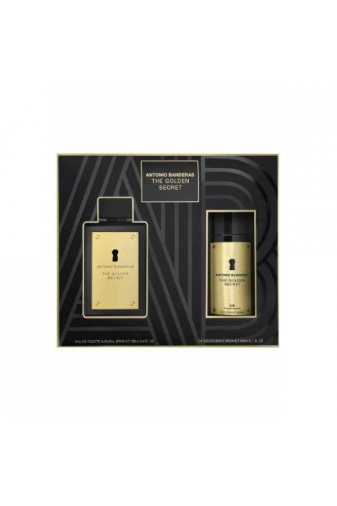 Antonio Banderas Antonio Banderas The Golden Secret Edt 100 Ml Erkek Parfüm Seti