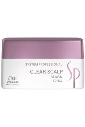 Wella - Clear Scalp Kepek Önleyici Maske 200Ml