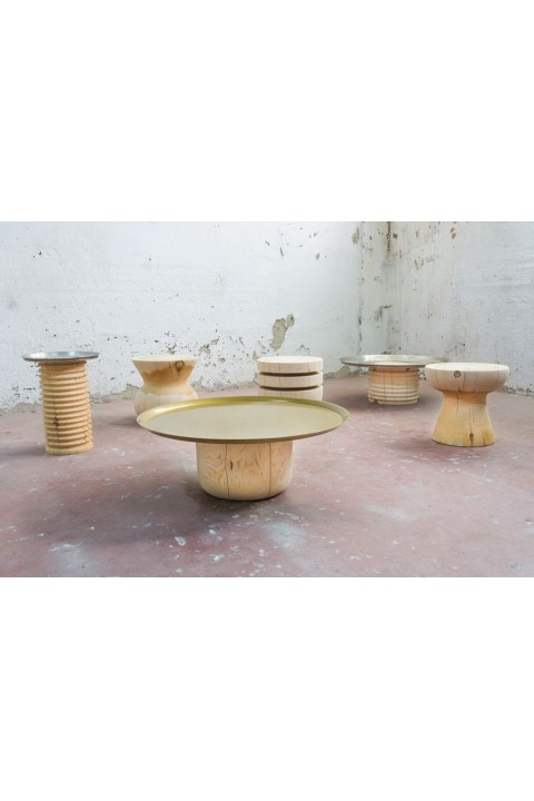 Ananas Woodworking  Ananas Woodworking Sofra Yan Sehpa