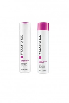 Paul Mitchell - Paul Mitchell Super Strong Saç Kremi 300 ml+Şampuan 300 ml
