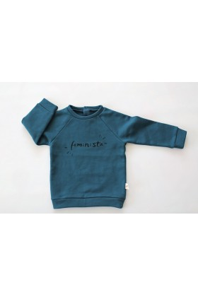 Tiny Little Love - Ocean Feminista Sweatshirt