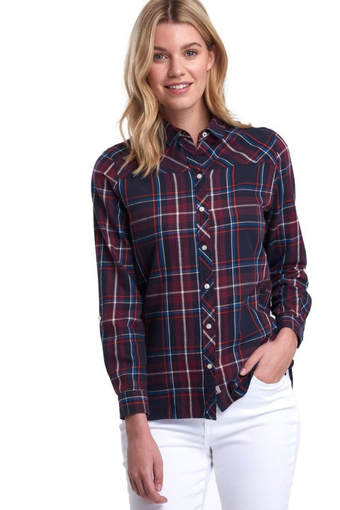 Barbour Barbour Paddle Shirt Navy