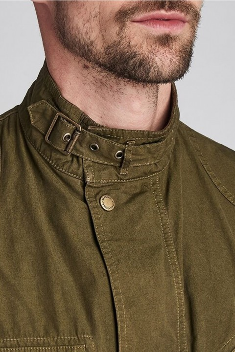Barbour International B.Intl Coloured A7 Casual Jacket  Green