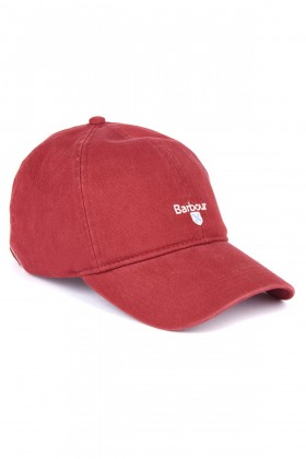Barbour - Barbour Cascade Sports Cap Lobster Red