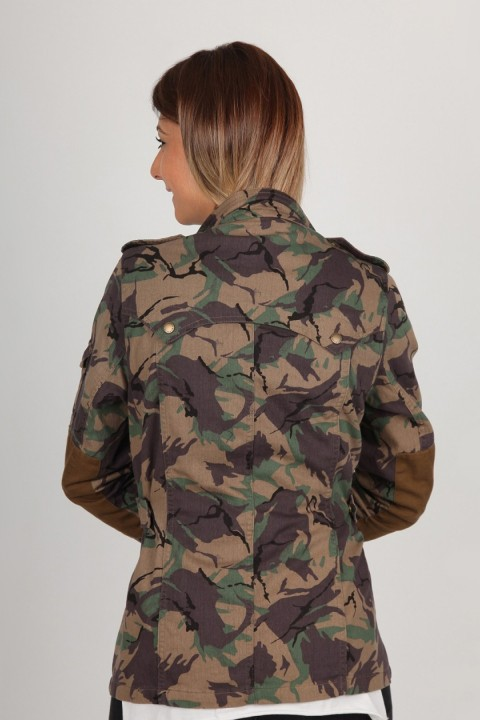 Barbour Barbour Mercia Casual Green Camo