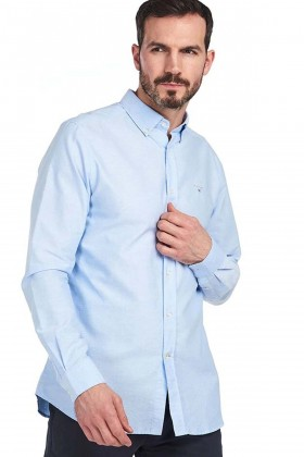 Barbour - Barbour Oxford 3 Tailored Fit Shirt Sky