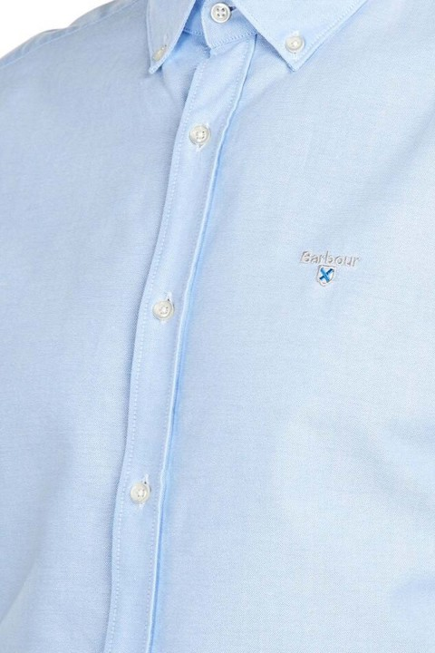 Barbour Barbour Oxford 3 Tailored Fit Shirt Sky