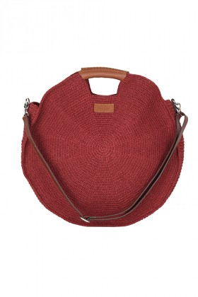 Tullaa - Bordo Xl Hoop Bag