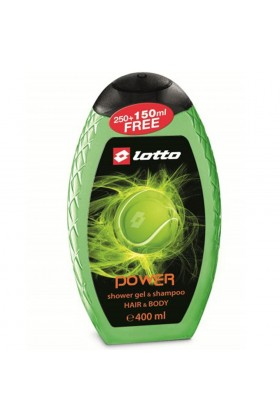 Lotto - Lotto Power Erkek Shower Gel , Shampoo 400 Ml