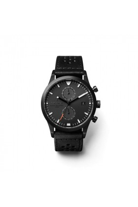 Triwa - TRIWA Rasmus Chrono Glow Black-Leather